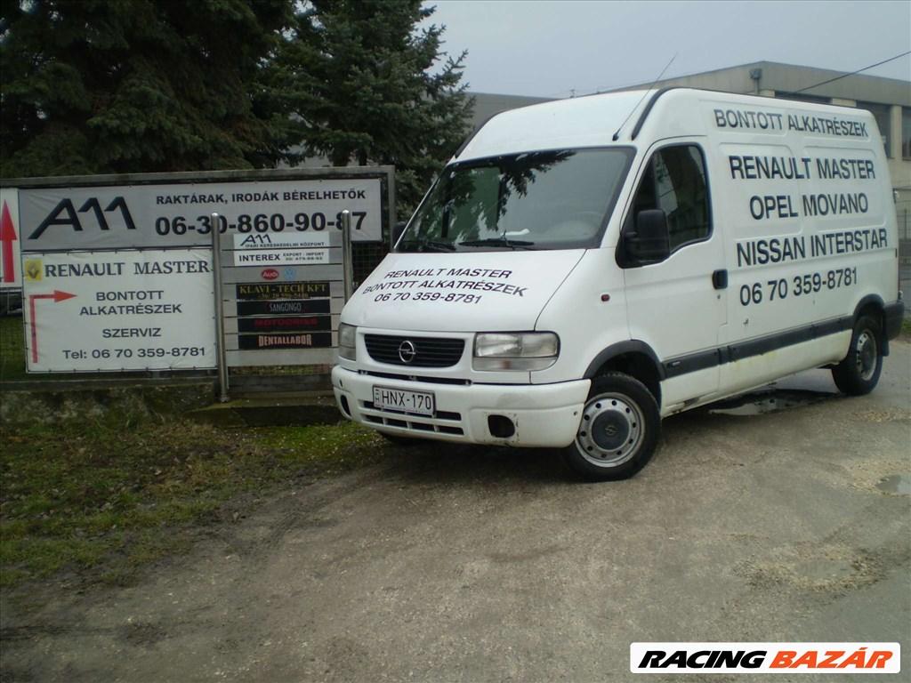 Renault Master,Opel Movano,Interstar motorok,motoralkatrészek/bontó/szervíz A-Z-ig 20. kép