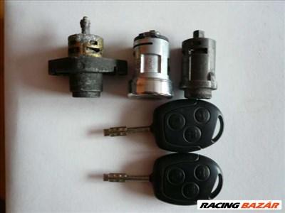 Ford mondeo Mk3 kopásmentes zárgarnitúra két gyári  kulccsal