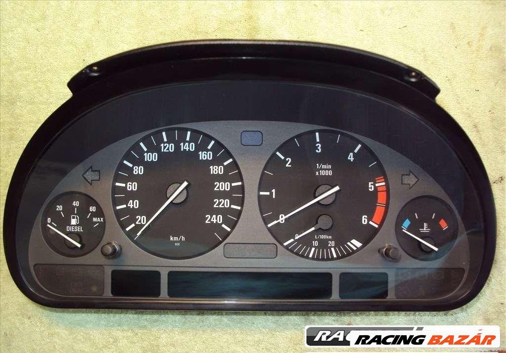 BMW E38 E39 X5 kilométer óra / műszercsoport LCD pixelhiba javítás, 1 óra alatt! 1. kép