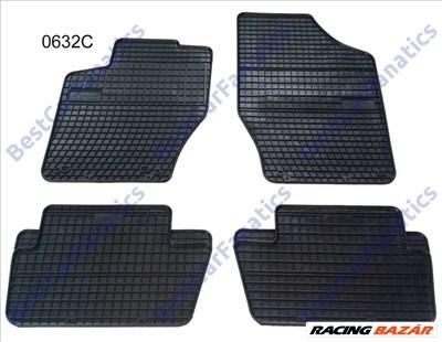 Citroen C4 I C4 II Frogum 0632C fekete gumiszőnyeg szett