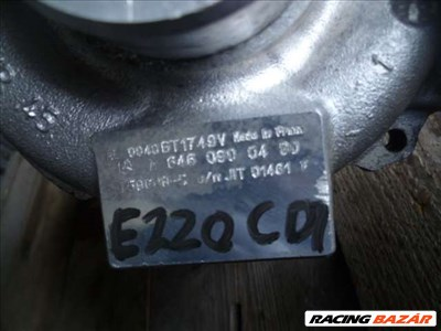 mercedes sprinter 2,2 cdi turbo elektronikával A 646 090 04 80 (906, 315 CDI) GT1749V A6460900480