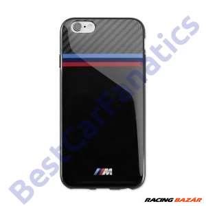 Gyári BMW M carbon optikás fekete telefontok Samsung Galaxy S6-hoz 80212413760