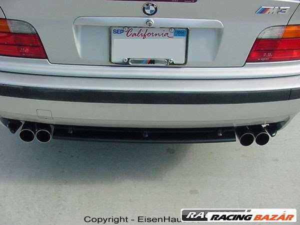BMW E36 M Paket hátsó lökhárító, dupla kipufogó nyílással! 1. kép