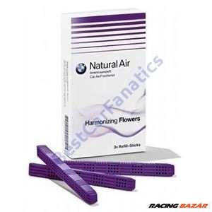 Gyári BMW Natural Air utastér illatosító - légfrissítő utántöltő stick Harmonizing Flowers 83122285678