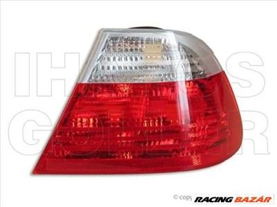 BMW 3 1998-2001 E46 - Hátsó lámpa üres jobb külső fehér/piros (Coupé)
