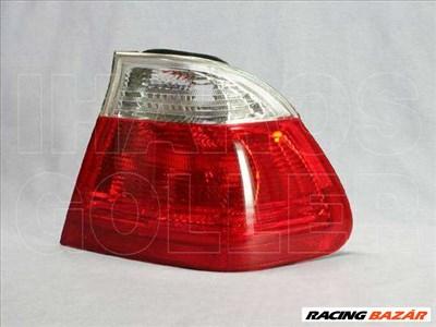 BMW 3 1998-2001 E46 - Hátsó lámpa üres jobb külső fehér/piros (4 ajtós)