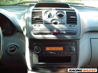 Mercedes vito w639 115cdi kulcsmodul, motorvezérlő, bizosítéktábla
