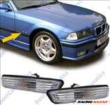 BMW E36 facelift 95-99 E53 99-07 fehér kristály burás oldalindex pár