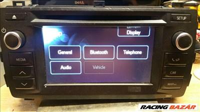 Toyota Prius 86140-02010 gyári bluetooth-os navigáció eladó!