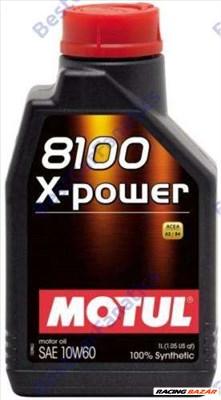 MOTUL 8100 X-power 10W-60 1L kiszerelésű 100% szintetikus motorolaj 106142