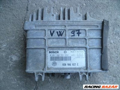 VW POLO 1.0   97  AER motorvezérlő bosch 030 906 027 E