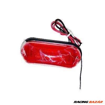 Szélességjelző 24V-os piros LED-es 80x30x30mm LA570R
