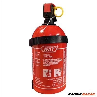 Tűzoltókészülék 1Kg porral oltó B, C osztály