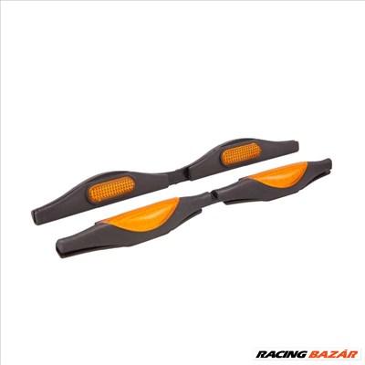 Ajtóélvédő narancssárga prizmás 2db-os  93866