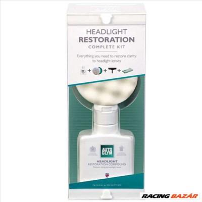 Autoglym Headlight Restoration Complete Kit (fényszóró polírozó készlet)