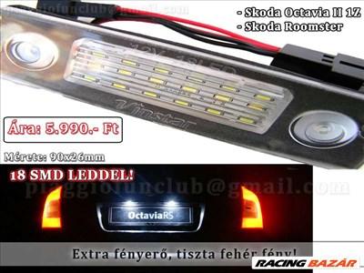 Skoda Octavia (2nd gen) 1.6 LED Rendszám