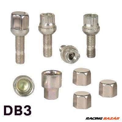 Kerékőr univerzális  12x1,5 Locked DB3