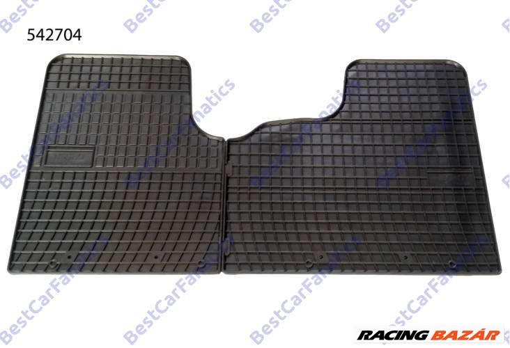Opel Vivaro II Frogum 542704 fekete gumiszőnyeg szett 1. kép