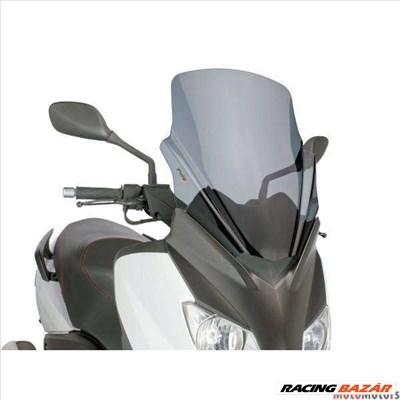 Robogó szélvédő Puig V-Tech Touring sötét füst - Yamaha X-Max 125 YP125R 10-14