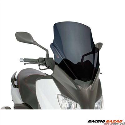 Robogó szélvédő Puig V-Tech Touring fekete - Yamaha X-Max 125 YP125R 10-14
