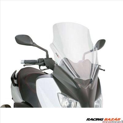 Robogó szélvédő Puig V-Tech Touring átlátszó - Yamaha X-Max 125 YP125R 10-14