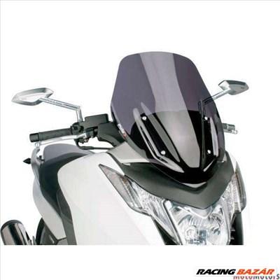 Robogó szélvédő Puig V-Tech Sport sötét füst - Honda Integra NC700, NC750