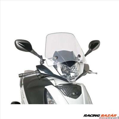 Robogó szélvédő Puig Trafic átlátszó - Kymco People GT 125i, 200i, 300i (10-14)