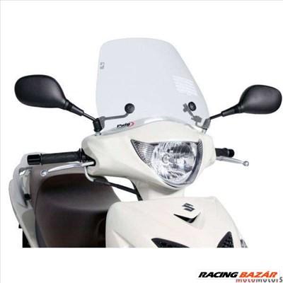 Robogó szélvédő Puig Trafic átlátszó - Suzuki Sixteen 125, 150 (08-14)