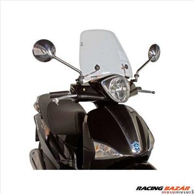 Robogó szélvédő Puig Trafic átlátszó - Piaggio Liberty 50, 125 (04-10)