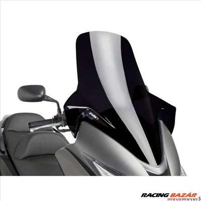 Robogó szélvédő Puig V-Tech Touring fekete - Honda Silver Wing FJS 400, 600 NF03 09-