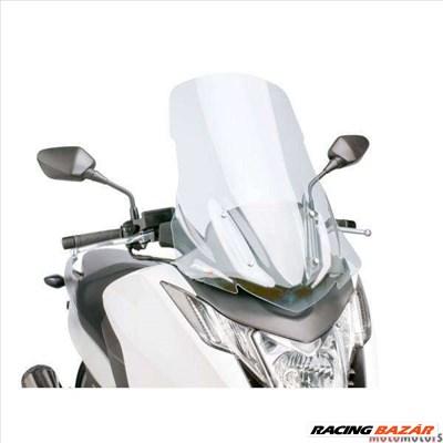 Robogó szélvédő Puig V-Tech Touring átlátszó - Honda Integra NC700, NC750