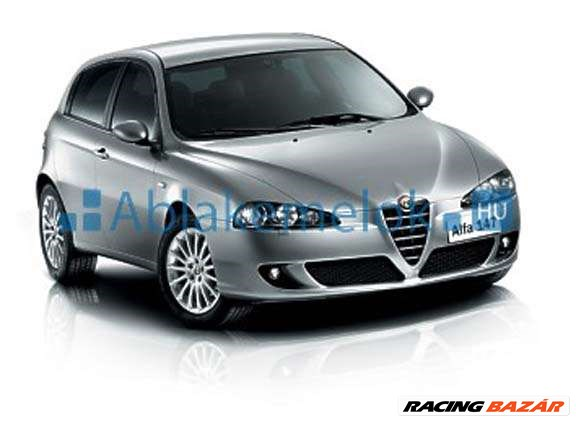 Alfa Romeo 147 ablakemelő szerkezet javítás,ablakemelő szerviz,javítószet,csúszka,bovden,kerék 2. kép