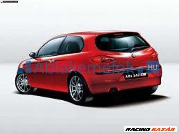 Alfa Romeo 147 ablakemelő szerkezet javítás,ablakemelő szerviz,javítószet,csúszka,bovden,kerék 3. kép