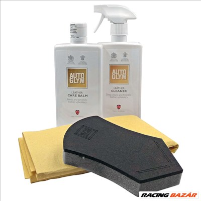 Autoglym Leather Clean & Protect Kit (Bőrápoló készlet)