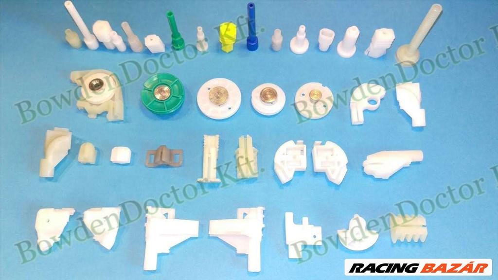Peugeot 207 ablakemelő javítás,csúszka,szerelés is,bowdenezés,www.ablakemeloalkatreszek.hu  3. kép
