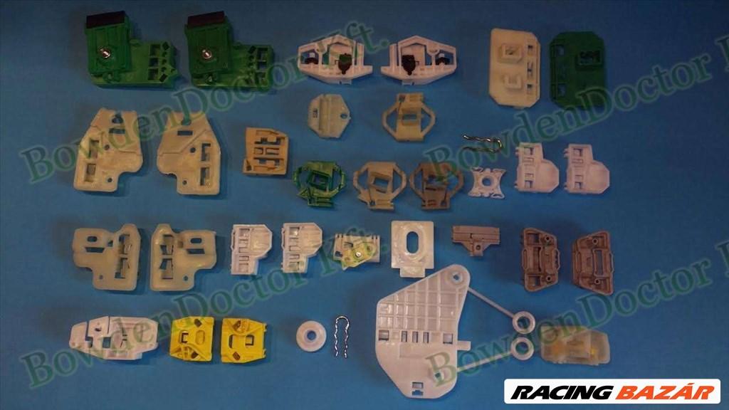 Peugeot 207 ablakemelő javítás,csúszka,szerelés is,bowdenezés,www.ablakemeloalkatreszek.hu  7. kép