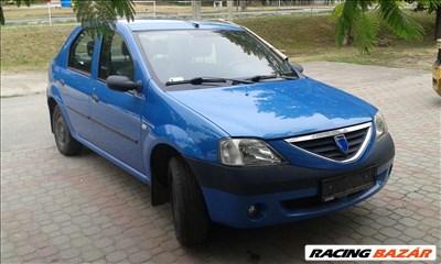 Dacia Logan bontott alkatrészei: hátsó lökhárító, futómű, motoikus alkatrészek.