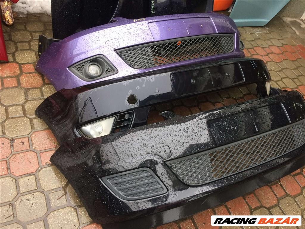 Ford Fiesta bontott alkatrészei: motorháztető, sárvédő, lökhárító, ajtó, csomagtér ajtó. 6. kép