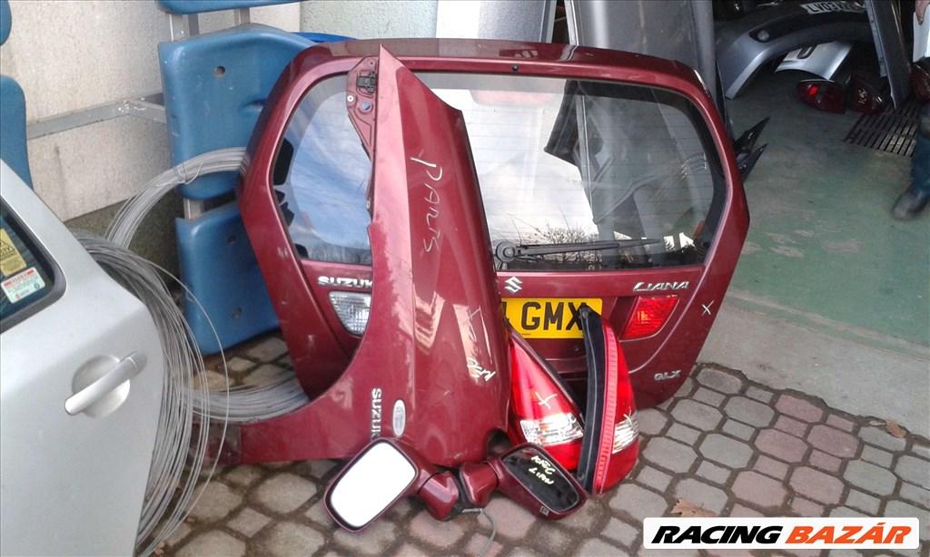 Suzuki Liana 2002-2006 bontott alkatrészei: motor, váltó, futómű, ajtó, sárvédő, csomagtér. 4. kép