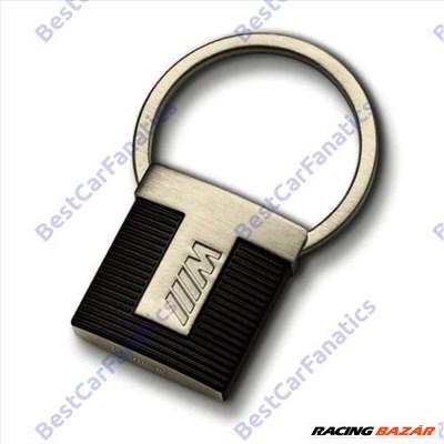 Gyári BMW M matt fekete rozsdamentes kulcstartó 80272454760