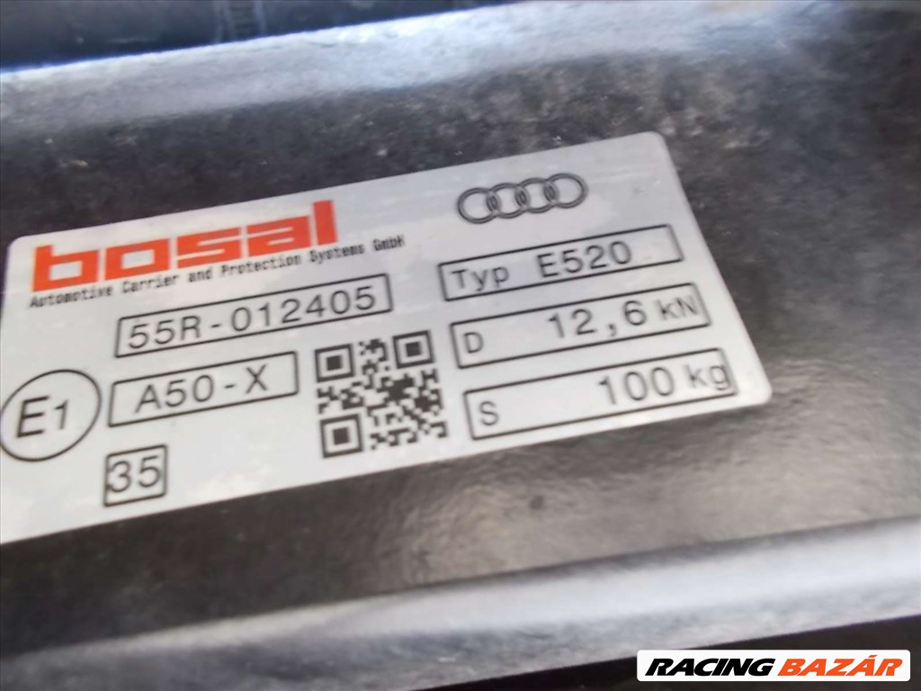 AUDI Q5 80A elektronikusan behajlós vonóhorog 2017-2019 80A800495F 3. kép