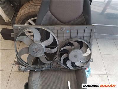 Volkswagen Golf V ,Seat Toledo 1.9 PDTDI klíma/víz hűtőventilátor , ventilátor keret