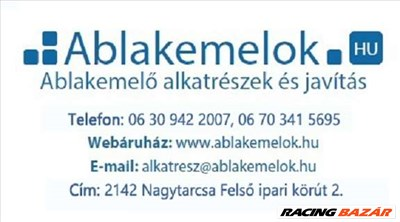 elektromos ablakemelő javítás,1-2 óra alatt, Megvárható > 06 30 942 2007 > www.ablakemelok.hu