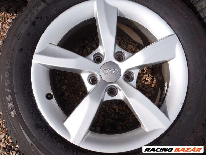 Audi A6 5x112-as 7,5x16 újszerű (gyári felni) alufelni, 225/60 R 16 újszerű Michelin téli gumi Sxx3I 3. nagy kép