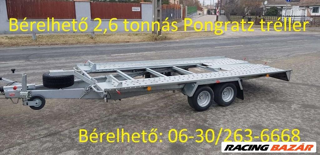 AUTÓSZÁLLITÓ TRÉLER BÉRELHETÖ  9000/ NAP CSEPEL SOROKSÁR BUDAFOK 1. kép