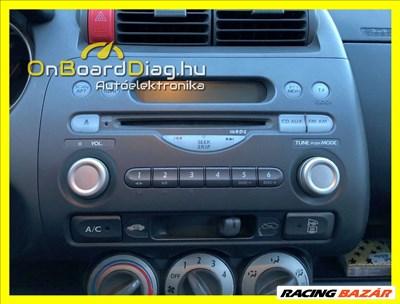 Honda Jazz, Honda City Gyári rádió, fejegység javítás garanciával!