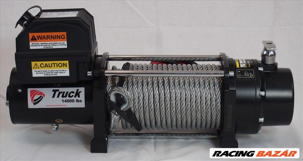 Macon Winch 14000 elektromos csörlő 6,5 tonna 10 év garancia 1. kép