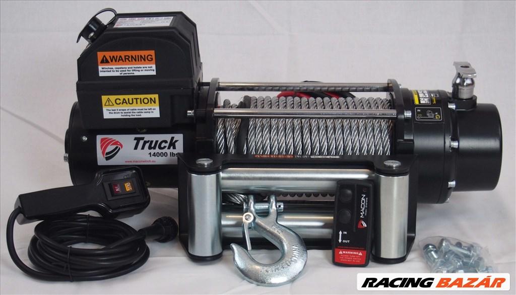 Macon Winch 14000 elektromos csörlő 6,5 tonna 10 év garancia 2. kép