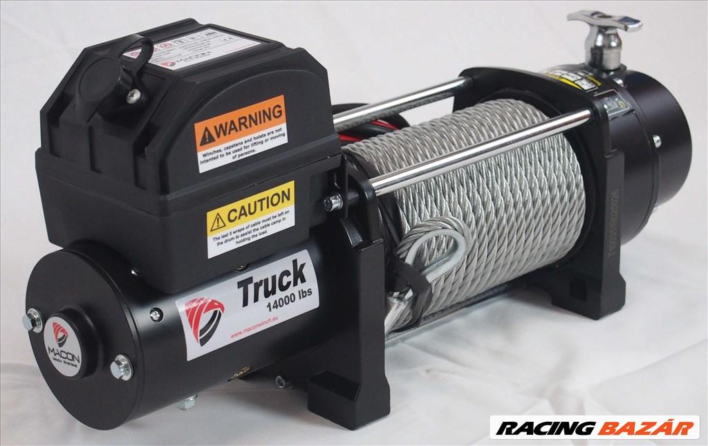 Macon Winch 14000 elektromos csörlő 6,5 tonna 10 év garancia 3. kép
