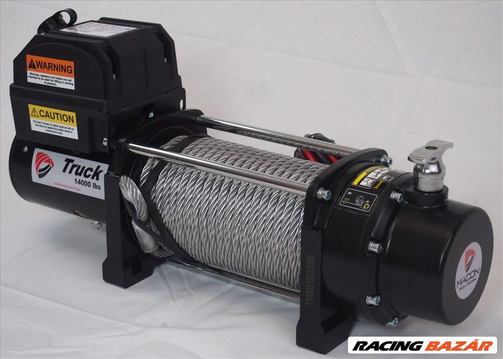 Macon Winch 14000 elektromos csörlő 6,5 tonna 10 év garancia 4. kép